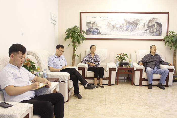 齐鲁工业大学赵传山教授到访我司进行考察参观